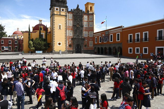 Suspenden clases en todo Puebla hasta nuevo aviso por sismo