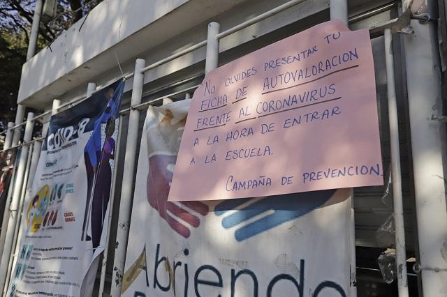 No quieren trabajar en SEP Puebla durante la contingencia