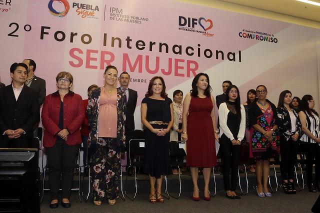 Foro Internacional Ser Mujer aborda violencia y trata de personas
