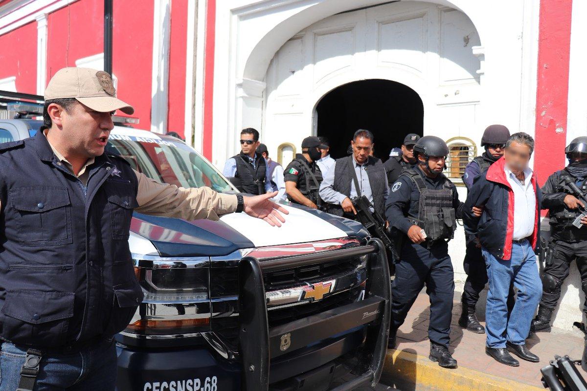 Asume SSP seguridad en Ciudad Serdán y detiene a polis piratas