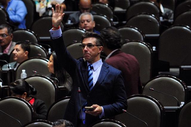 Sergio Mayer, diputado de Morena, presentará la Ley Taibo