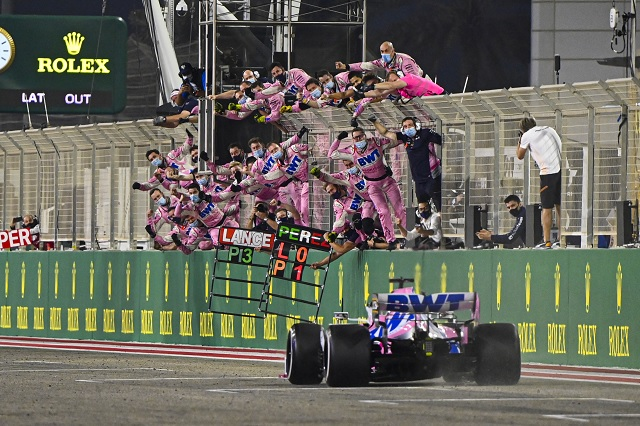 Foto: Twitter / @RacingPointF1