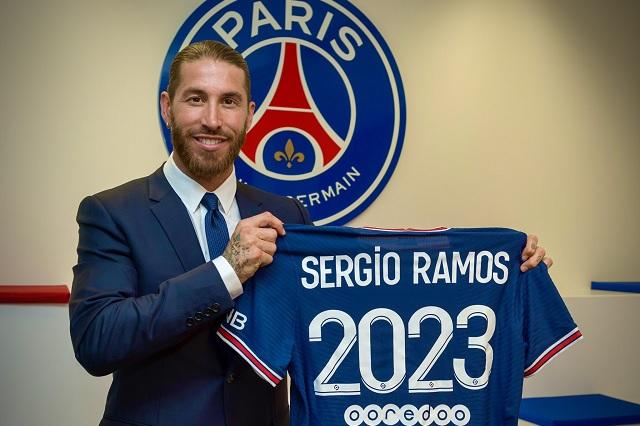 Sergio Ramos hace oficial su llegada al PSG