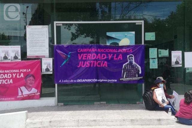 Acusan tortuguismo en búsqueda del activista Sergio Rivera