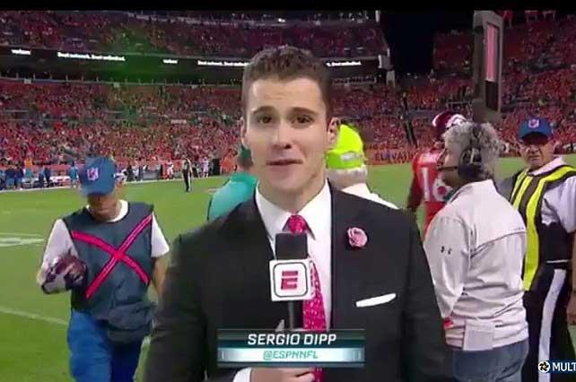 Nervios traicionaron a Sergio Dipp de ESPN y con memes lo destrozan
