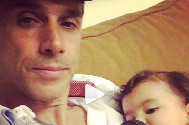 Sergio Mayer se reencuentra con su nieta Mila tras meses de no verla