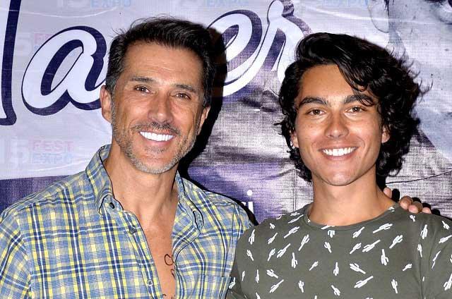 Sergio Mayer se reencuentra con su hijo tras meses de estar distanciados