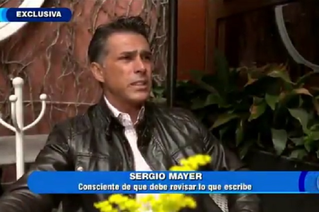 No tengo que dar explicaciones a nadie: Sergio Mayer tras error