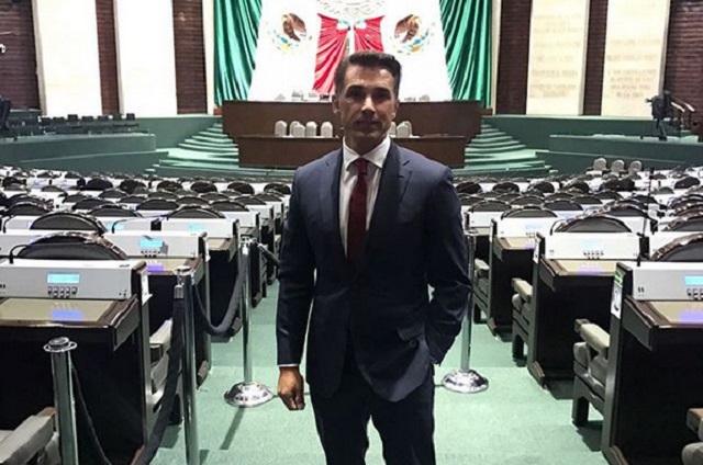 Sergio Mayer dice que salario de diputado no le alcanza