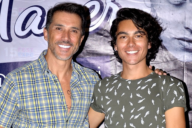 ¿Sergio Mayer nuevamente está distanciado de su hijo?
