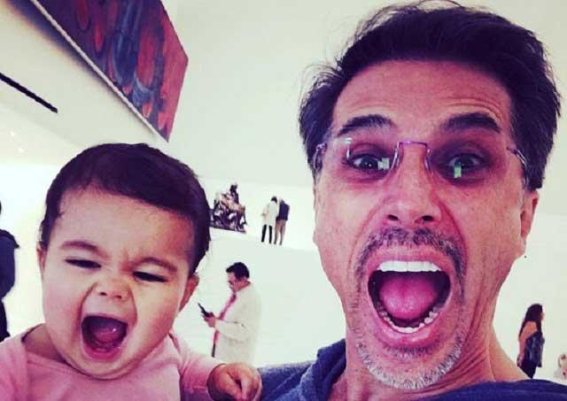 Natália Subtil y su hija se van a casa de Sergio Mayer tras sismo