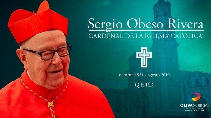 Fallece Sergio Obeso Rivera, cardenal y arzobispo emérito de Xalapa