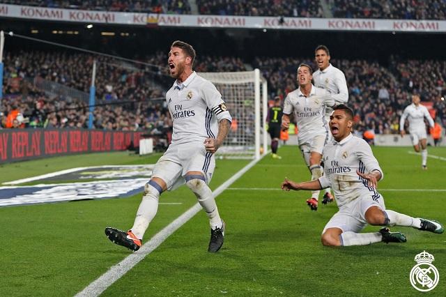 VIDEO Gol de Ramos al 90 silencia al Camp Nou y da empate al Real Madrid