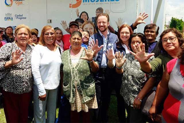 Realizan jornada de servicios en San Baltazar Campeche