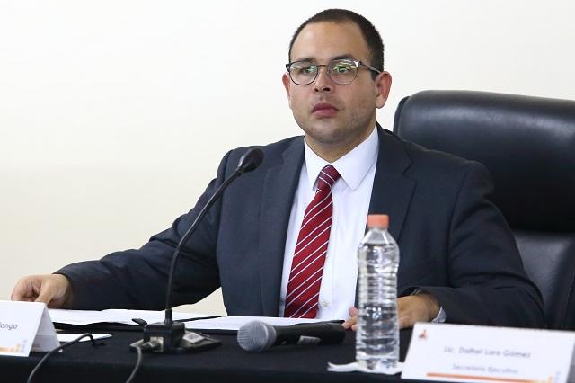IEE sí dio al PAN datos sobre Aranda pero fue legal: Herrera
