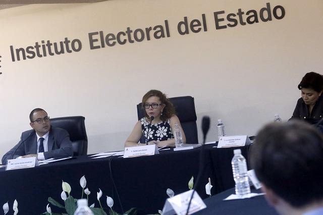 IEE realiza cómputo final y declara validez de la elección