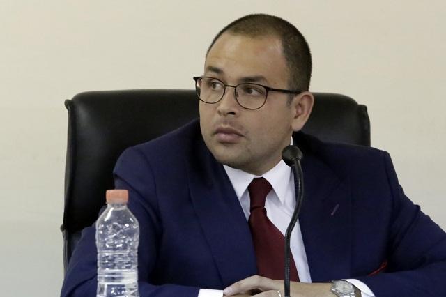 Corrigen a presidente IEE: denuncia de Aranda es contra Consejo General
