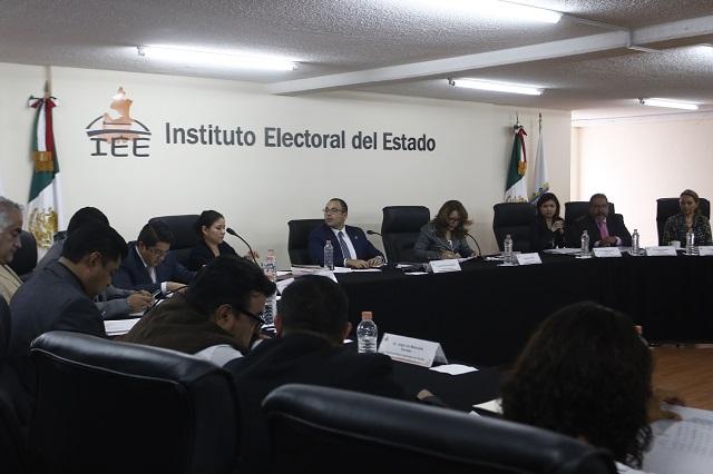Aplaza IEE proceso de registro de nuevos partidos hasta 2019