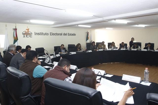 IEE descontará más de 435 mil pesos a partidos políticos por irregularidades