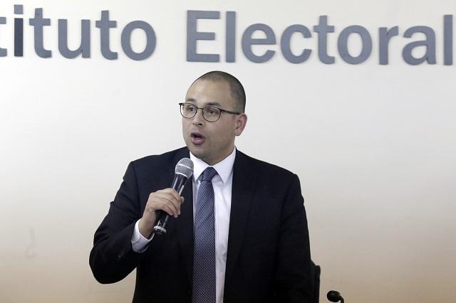 Acusaciones de Aranda contra IEE nos tienen sin cuidado: Herrera