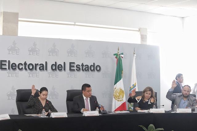 PAN busca que el IEE castigue violencia política en Puebla