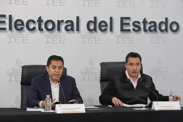 Frena IEE reforma a reglamento interno por disputa de consejeros