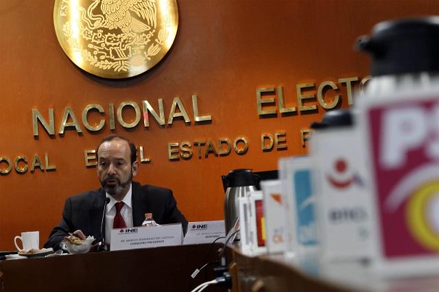 Ante el INE, Puebla registró cinco precandidatos a la gubernatura
