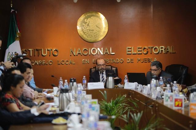 Alista INE dos debates entre candidatos poblanos al Senado