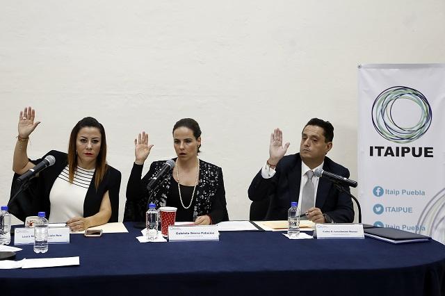 Fallan en transparencia los 339 sujetos obligados en Puebla