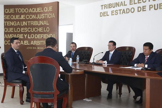 Debe TEEP emitir fallo sobre cómputo final esta semana: Jorge Sánchez