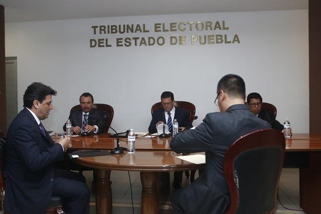 Ordenan al TEEP resolver negativa de registro al Partido Anticorrupción
