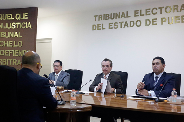 Ratifica tribunal plan de debate light a la gubernatura de Puebla