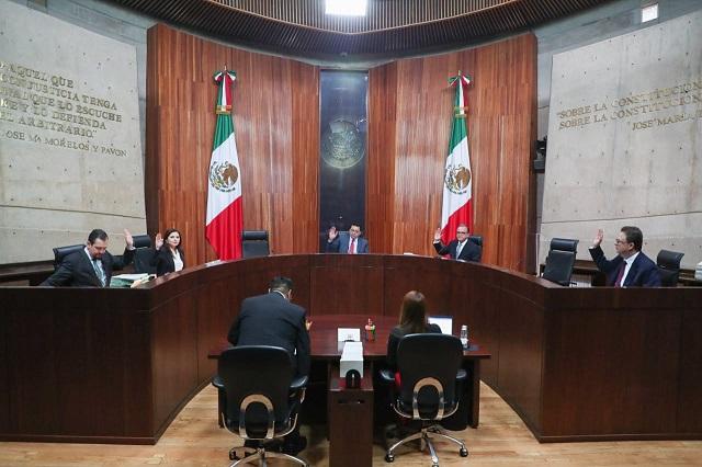 Funcionarios no deben renunciar si aspiran a cargos en Morena: TEPJF