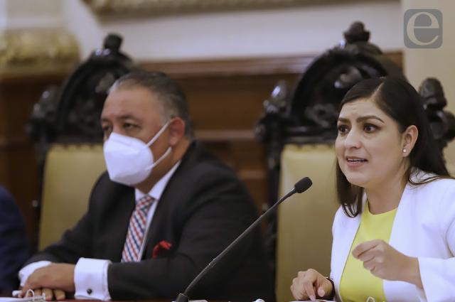 """Ponen """"tapaboca"""" a regidores en último informe de Claudia Rivera"""