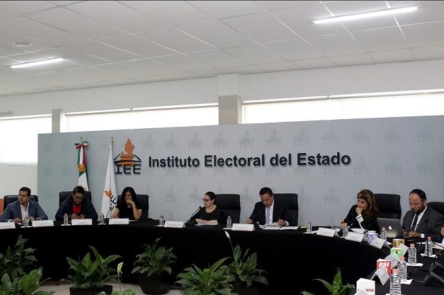 Renuncian a ser nuevos partidos 6 de 11 organizaciones en Puebla
