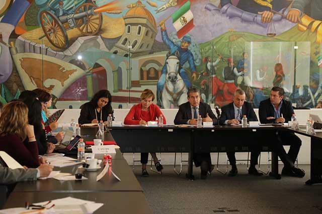 SGG y Conavim revisan plan contra violencia de género en Puebla