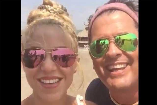 Shakira y Carlos Vives lanzan video La Bicicleta