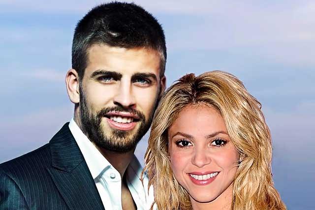 Shakira y Gerard Piqué se divierten como niños en sus vacaciones