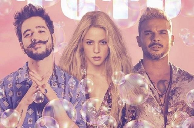 Así suena Shakira junto a Camilo y Pedro Capó con el remix de Tutu