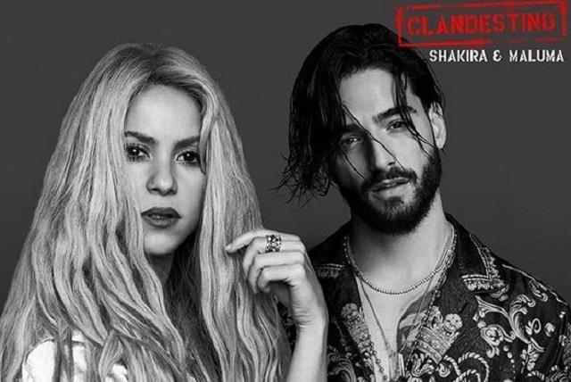 Shakira y Maluma lanzan video vertical del tema Clandestino