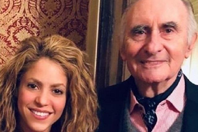 Shakira manda emotivo mensaje tras muerte de su ex suegro