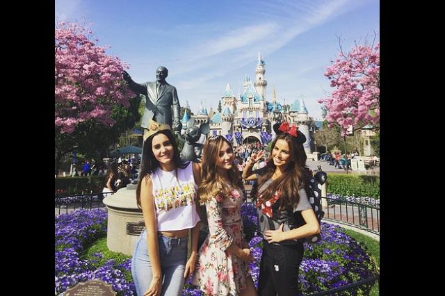 Sherlyn se fue a Disneylandia con la prima de Gerardo Islas