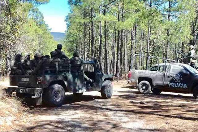 Reportan que 100 sicarios enfrentaron durante 20 minutos a los federales