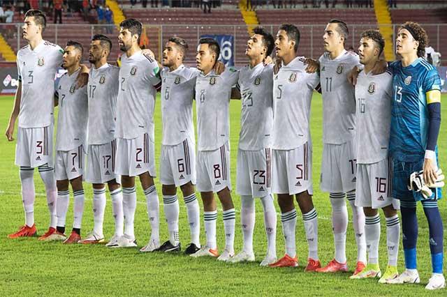 Sigue México en el top 10 mundial de mejores selecciones de futbol