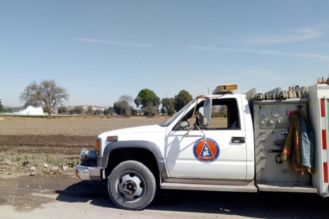 Sigue sin control fuga de gas en la Puebla-Orizaba