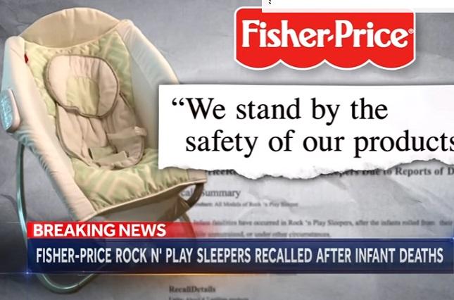 Silla de bebés de Fisher-Price, de Mattel, ¿causó 30 muertes?