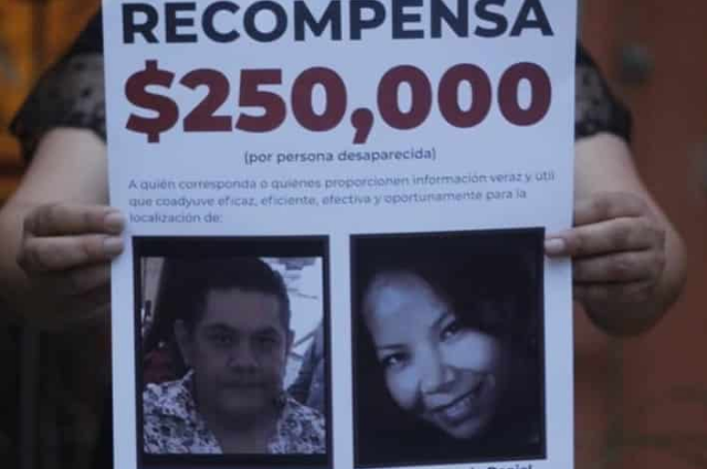 Nallely Guarneros: la poblana que  lleva 2 años en busca de su esposo