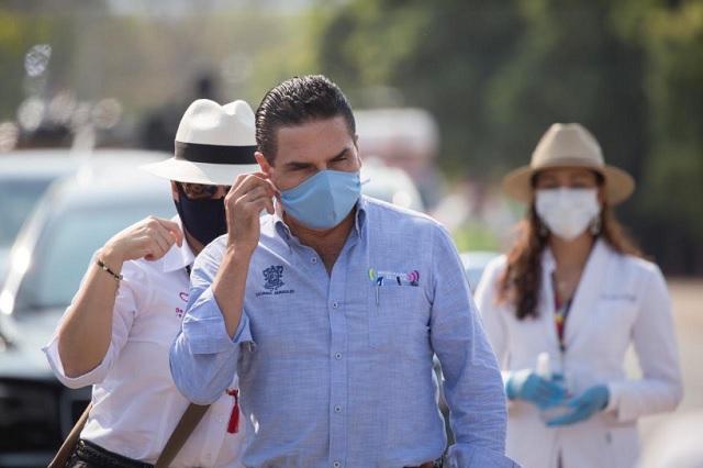 No deje solo a Michoacán: Silvano Aureoles a AMLO