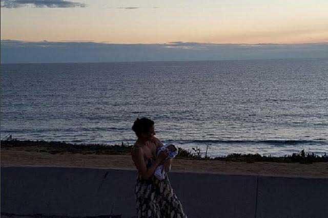 Silvia Navarro comparte foto de su hijo en redes