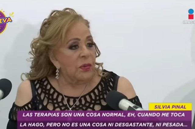 Silvia Pinal defiende a su empleada doméstica y dice que no es lela